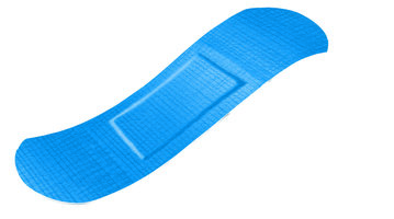 Kit Detecteerbare blauwe PE pleister 19 x 72 mm (100 st.)