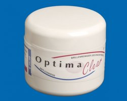 Optima Clear brillenreiniger pot 50 ml
