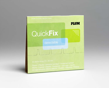 Navulling detecteerbare pleisters Quickfix pleisterdispenser