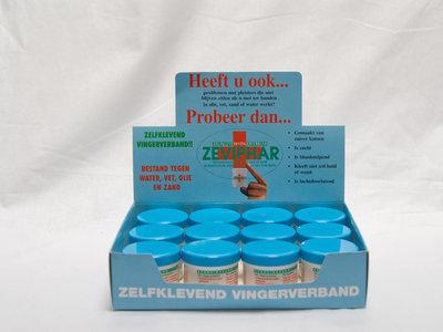 Zeviphar wondpleister,  4 m x 4 cm, doos 12 stuks